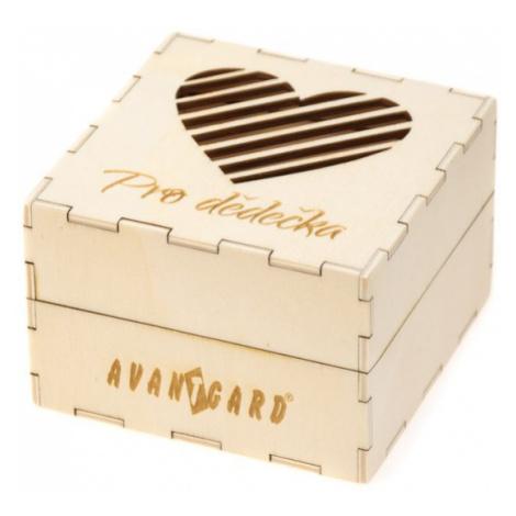 Dřevěná dárková krabička Avantgard