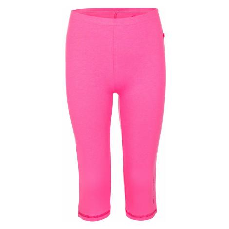 Dětské capri kalhoty Alpine Pro TROCO - růžová