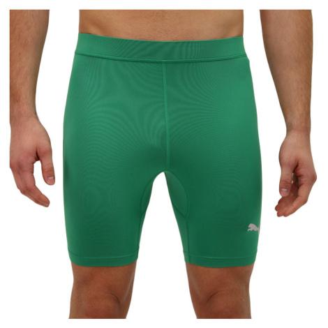 Pánské sportovní kraťasy Puma zelené (655924 35)