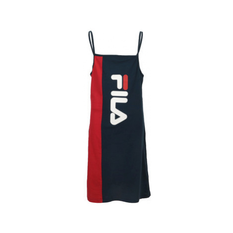 Fila Tien Spaghetti Strap Dress Kids Modrá