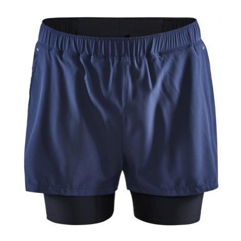 Pánské šortky CRAFT ADV Essence 2v1 tmavě modrá