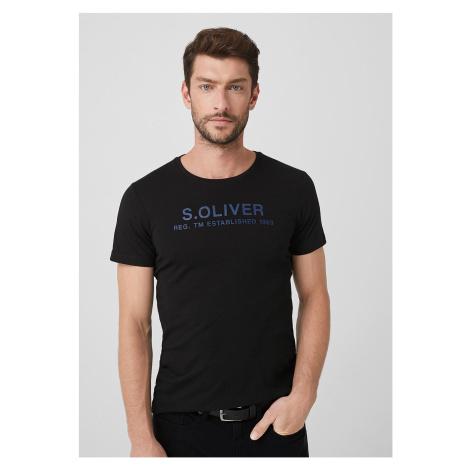 s.Oliver pánské triko s logem 13.909.32.7972/9999