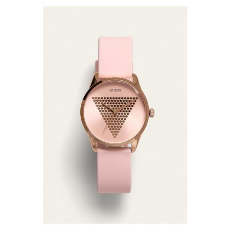 Růžové hodinky - GUESS