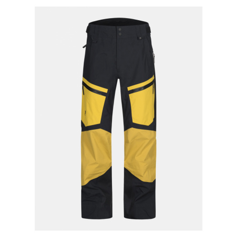 Kalhoty Peak Performance Gravity P Active Ski Pants - Žlutá