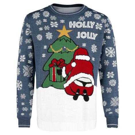 Ugly Christmas Sweater Holly Jolly Pletený svetr vícebarevný