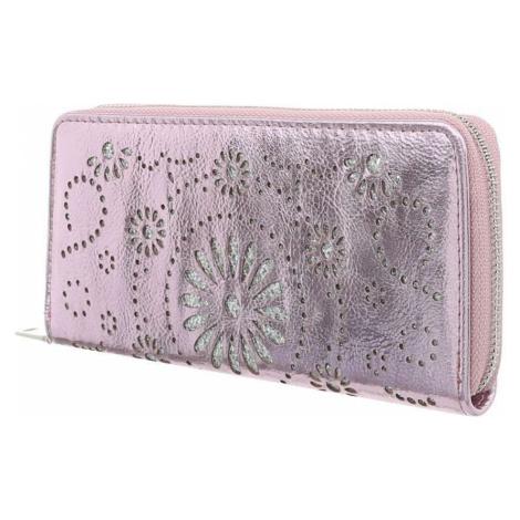 Luxusní peněženka růžovka