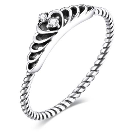 Linda's Jewelry Stříbrný prsten Tiara Ag 925/1000 IPR081 Velikost: 52