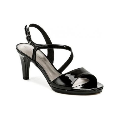 Tamaris 1-28319-22 černá laková dámská obuv Černá