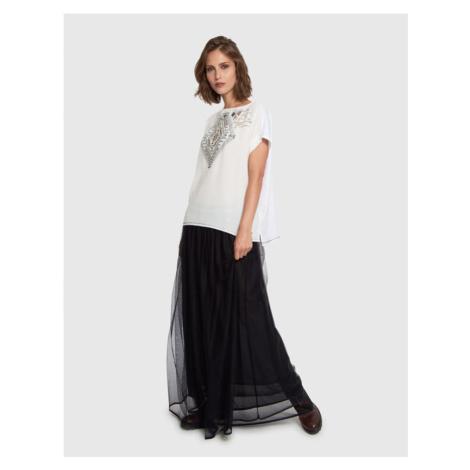 Sukně La Martina Woman Skirt Tulle Skirt - Černá