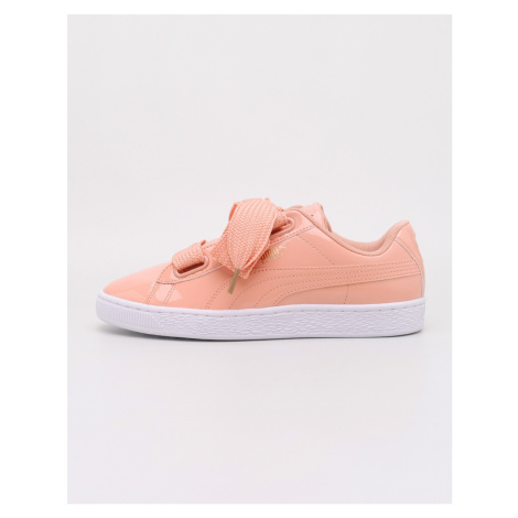 Puma Basket Heart Patent Dusty Coral-Dusty Coral