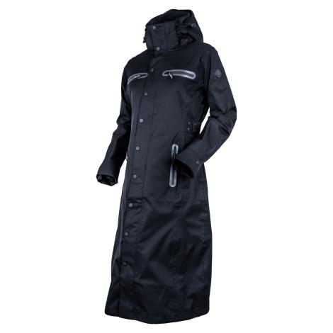 Kabát nepromokavý Long Trench UHIP, dámský, jet black