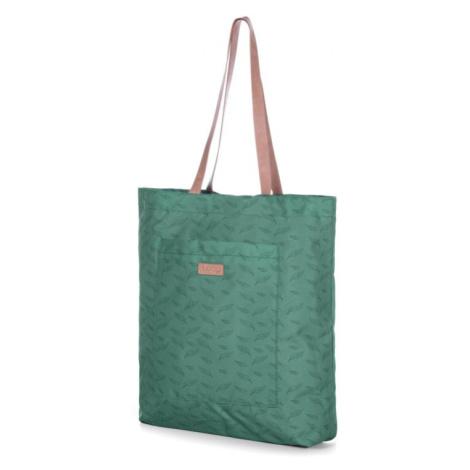 Taška přes rameno Loap Tinny tote Barva: zelená