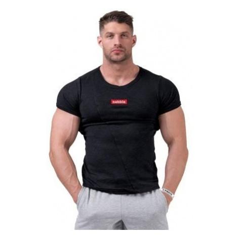 Tričko Nebbia Red Label Muscle Back Černá