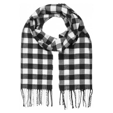 Kostkovaný šál v černo-bílé barvě JS/YW08052/1