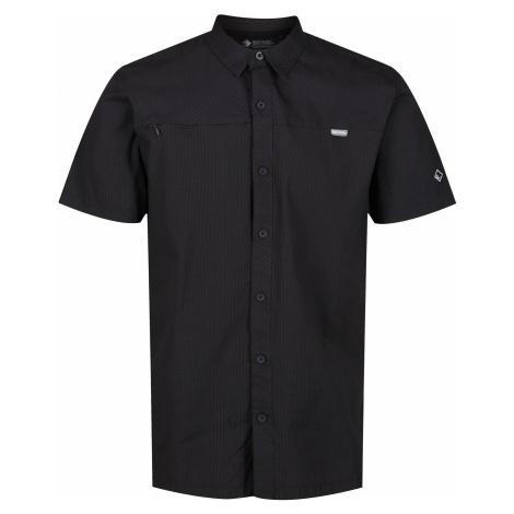 Pánská košile Regatta HONSHU V tmavě šedá