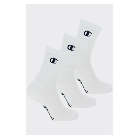 Champion ponožky 3-balení - bílé