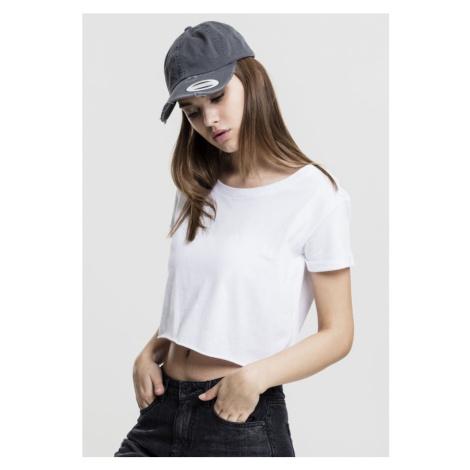Ladies Short Tee - white Urban Classics