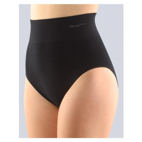 GINA Dámské kalhotky klasické se širokým bokem 00036-MxC černá
