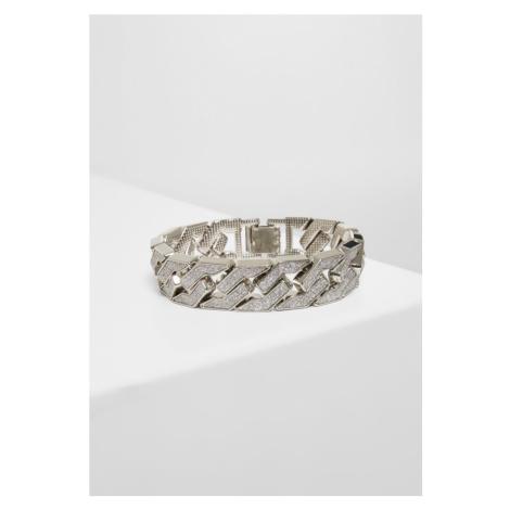 Glitter Bracelet - silver Urban Classics