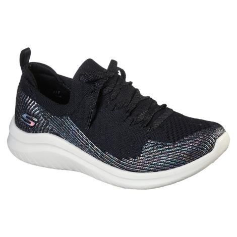 Skechers černé tenisky Ultra Flex 2 s lurexovou nití