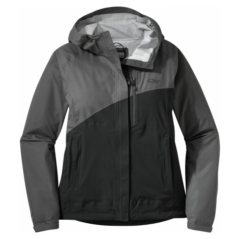 dámská bunda OUTDOOR RESEARCH Women's Panorama Point Jacket, Charcoal Herringbone/black