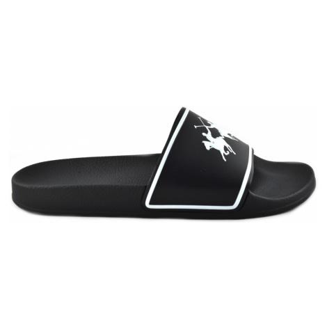 Pantofle La Martina Man Sea Slipper Eva - Černá