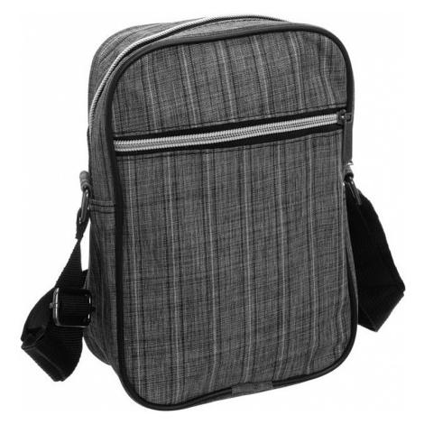 Loren® šedá pruhovaná taška přes rameno
