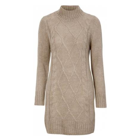 Pletené šaty s copánkovým vzorem Arabella Cellbes
