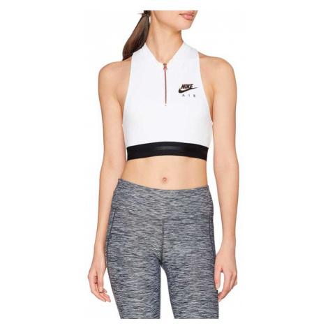 Nike Sportswear Bra Women Crop Top White bílé 930537-100