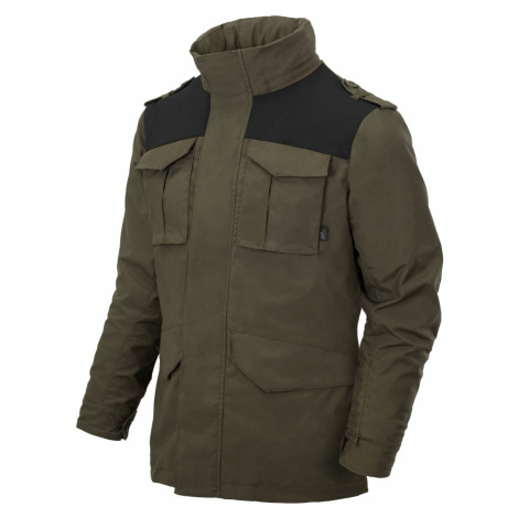 Bunda HELIKON Covert M-65 - TAIGA GREEN / BLACK
