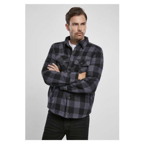 Košile Lumberjacket - black/grey Urban Classics