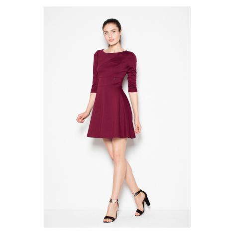 Venaton Woman's Dress VT077 Deep