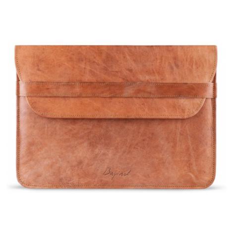 Kožené pouzdro na notebook Namek Brown