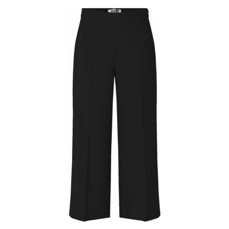 JUST FEMALE Kalhoty s puky 'Watson' černá