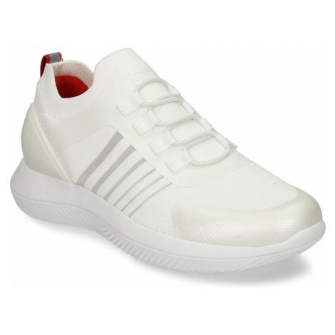 Bílo-stříbrná dámské sportovní tenisky