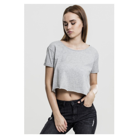 Ladies Short Tee - grey Urban Classics