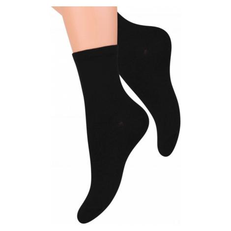 Dámské ponožky 037 black Steven
