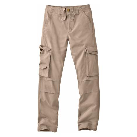 Pánské vojenské kalhoty béžová