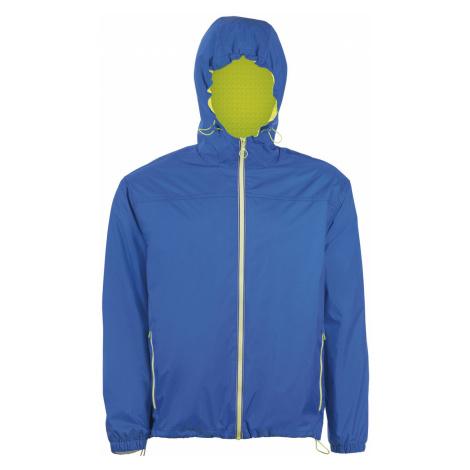 SOĽS Dámská větrovka SKATE 01171889 Royal blue / Neon gold SOL'S