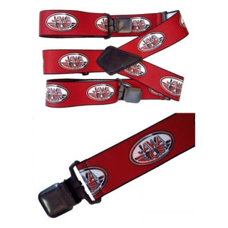 Kšandy Mthdr Suspenders Jawa Soft Red