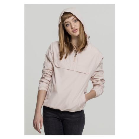 Ladies Basic Pullover - light pink Urban Classics