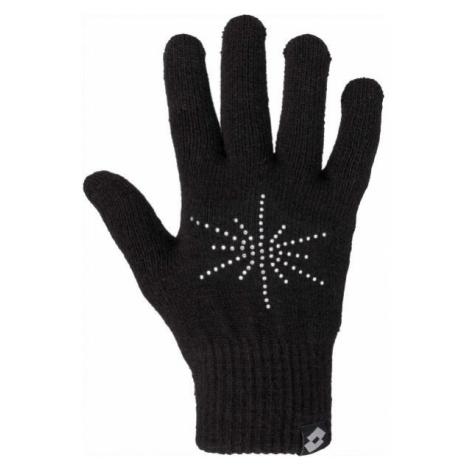 Lotto ELIS černá - Dámské pletené rukavice