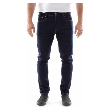 Levi´s® jeans 512 Slim Taper Dark Hollow pánské tmavě modré