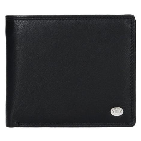 Pánská kožená peněženka DD Anekta Tibor - černá