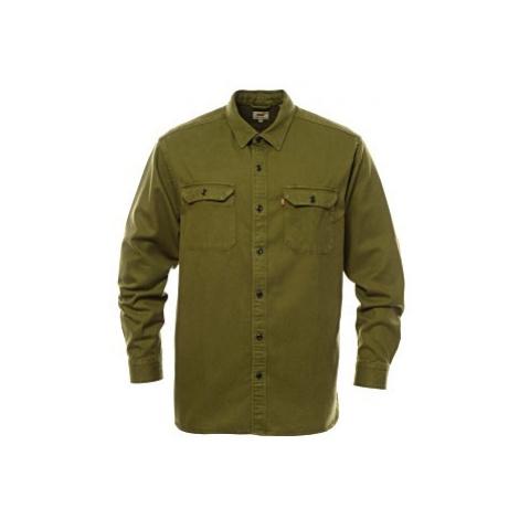 Košile Levi´s® Jackson Worker pánská olivová