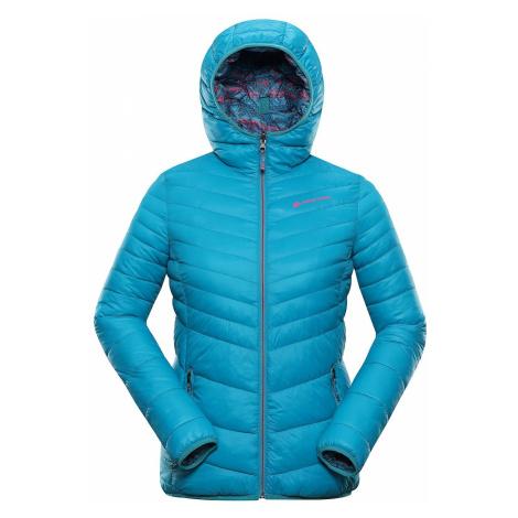 Dámská zimní hi-therm bunda Alpine Pro IDIKA - světle modrá