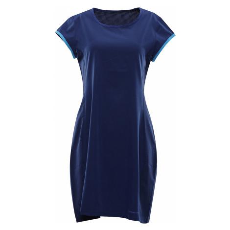 ALPINE PRO OFKA 2 Dámské tenisové šaty LSKR218677 estate blue