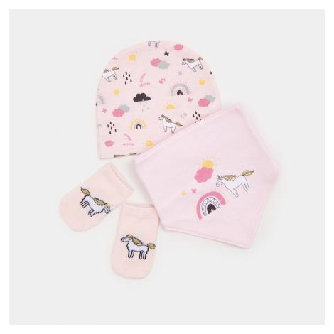 Sinsay - Souprava pro miminko - Růžová