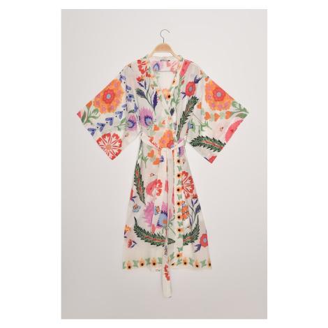 Dámské kimono Trendyol Floral patterned