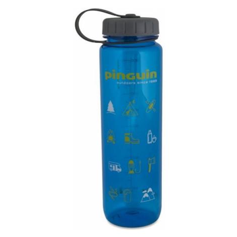 Pinguin Tritan Slim Bottle 1l, modrá